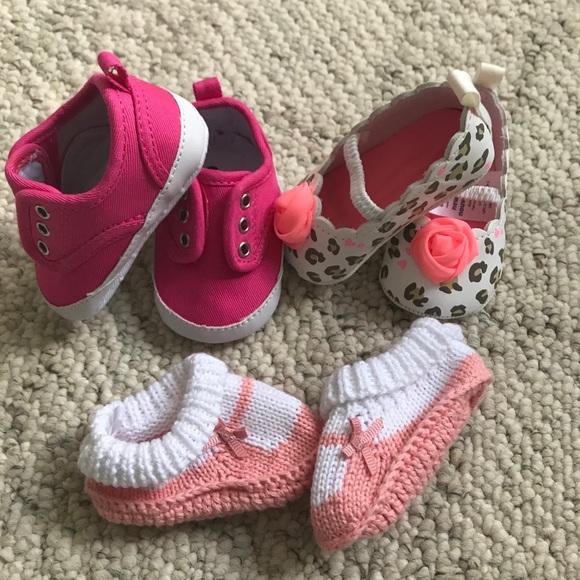 Carter's Shoes   Newborn Baby Girl Shoe